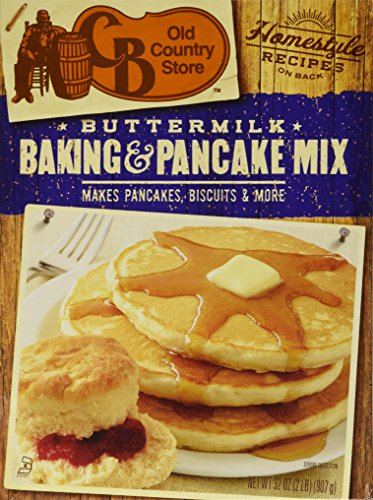 CB Old Country Store Buttermilk Baking and Pancake Mix, 32-Ounce Boxes (Pack of ()