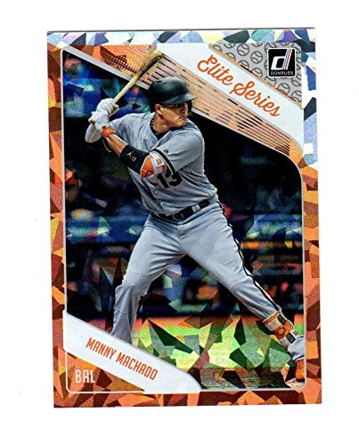 2018 Panini Donruss Elite Series Crystals Manny Machado #ES4 NM Near ()