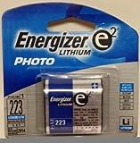 Photo : (Pack of 4) Energizer E2 Lithium Photo Battery EL223AP, Expiration date 2016