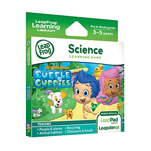 LeapFrog Learning Game: Bubble Guppies (for LeapPad Platinum, LeapPad Ultra, LeapPad1, LeapPad2, LeapPad3, Leapster Explorer, LeapsterGS Explorer)