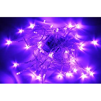 Amazon Com Autolizer 100 Led Purple Fairy String Lights
