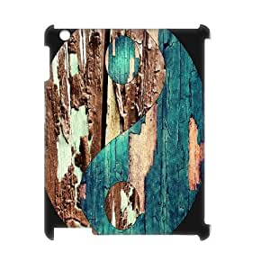 Colorful Wood Texture Hard Custom 3D Case for Ipad 2,3,4, 3D Personalized Colorful Wood Texture Hard Case