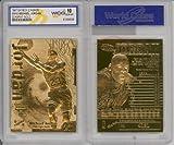 1997 Michael Jordan 23k Gold Cards Gem-mint