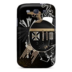 Excellent Hard Phone Cover For Samsung Galaxy S3 (oMn458Ucux) Allow Personal Design Fashion Metallica Image