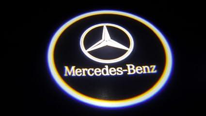 Mercedes Benz Ghost Puerta Logo Proyector Sombra Puddle Laser ...