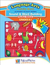 NewPath Learning Alphabet Activity Series Sound and Word Building Reproducible Workbook, Grade K-1