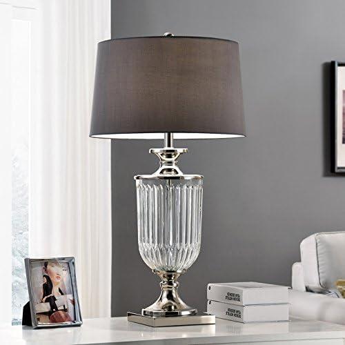 "ORE International K-5711 32.5"" Amelia Glass Table Lamp, Unknown"