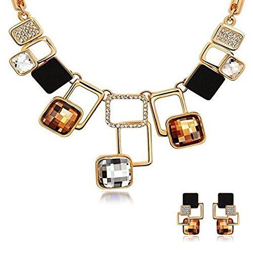 eforpretty-Elegant-Geometric-Chunky-Necklace-Earrings-Set-Crystal-Rhinestone-and-Acrylic