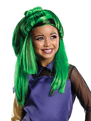 kids-Costume-Wig Monster High Jinafire Child Wig Halloween Costume]()