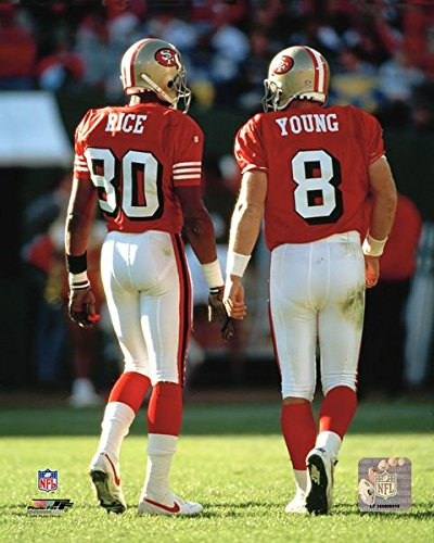 49ers Steve Young & Jerry Rice 8