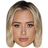 Celebrity Cutouts Anastasia Karanikolaou (Make Up) Big Head. Larger Than Life mask.