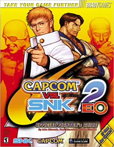 CapcomÂvs. SNKÂ2 EO Official Fighter's Guide