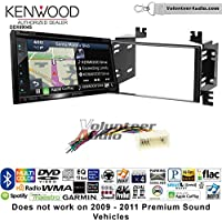Volunteer Audio Kenwood Excelon DNX694S Double Din Radio Install Kit with GPS Navigation System Android Auto Apple CarPlay Fits 2006-2008 Kia Accent, 2006-2011 Rio