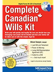 Complete Canadian Wills Kit