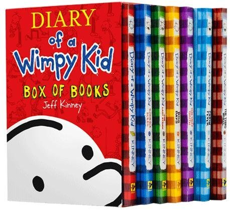 Diary Wimpy Plus Sticker Sheet product image