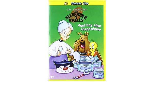 Las Aventuras De Silvestre Y Piolín: Aquí Hay Algo Sospechoso DVD: Amazon.es: Cine y Series TV