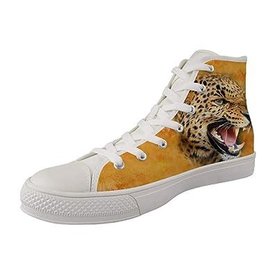 Herren Leoparddruck Jungen Schuhe Modega Hohe wxR7aqUaA