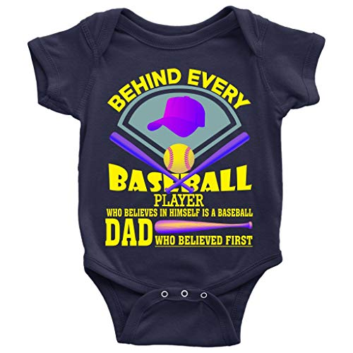 Every Baseball Player Baby Bodysuit, A Baseball Dad