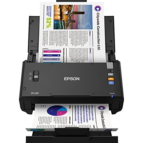 Epson WorkForce DS-520 Sheet-Fed Color Document Scanner