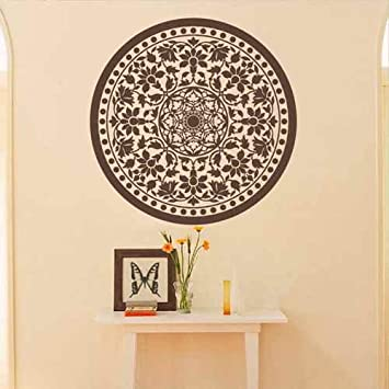 Amazon.com: Mandala Wall Decal Namaste Flower Mandala Indian ...
