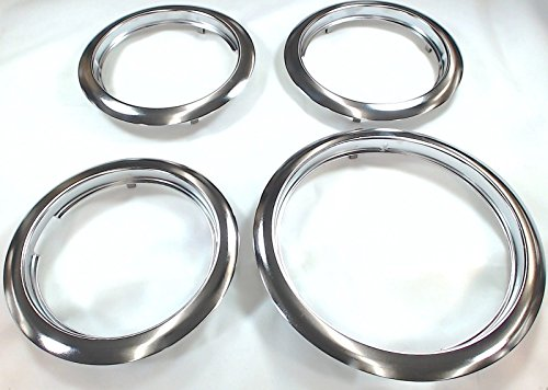 (Trim Ring Set for Frigidaire, (3) 5303291616, FT6 & (1) 5303291617, FT8)