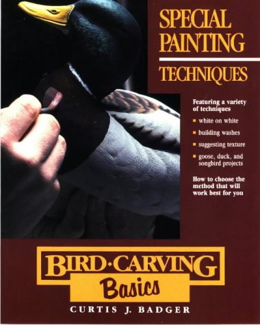 Special Painting Techniques (Bird-Carving Basics, Vol. 7)