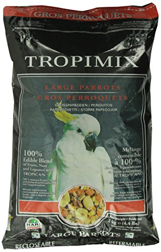Tropimix Mischfutter für Großpapageien, 2 kg, 1er Pack (1 x 2 kg)
