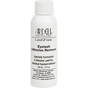 571e1a3a46a Amazon.com : Ardell LashFree Eyelash Adhesive Remover 59ml/2oz : Fake  Eyelashes And Adhesives : Beauty