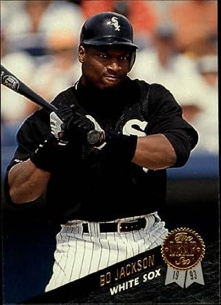 Amazoncom 1993 Leaf Baseball Card 316 Bo Jackson Mint