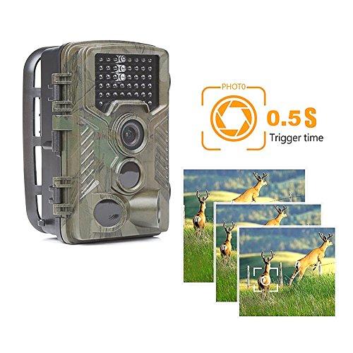 5 Mp Scouting Camera - PR-800 Hunting Camera 12MP/8MP/5MP 1080P HD 2.0