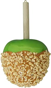Christmas By Krebs Caramel Candied Green Apple Christmas Holiday Ornament Glass