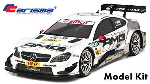 Carisma 76668 M40S Mercedes AMG C-Class DTM Car Kit, 1/10 Scale, 4WD (Best Rc Car Kit To Build)