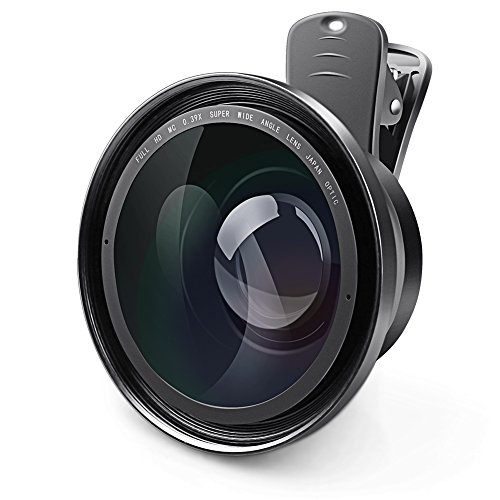Camcorder Lens, Eamplest Full HD 72mm 0.39X Super Wide Angle