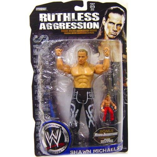 Ruthless Aggression Bonus Micro Aggression Shawn Michaels HBK WWE Jakks Pacific