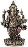 Standing Ganesh (Ganesha) Hindu Elephant God of Success Statue, 7 1/2-inch