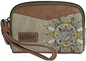 SKPAT - Bolso de Mano de Mujer Pequeño con Asa. Cartera ...