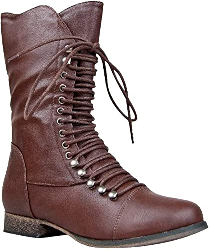 Synthetic Calf Combat Fighting Boot