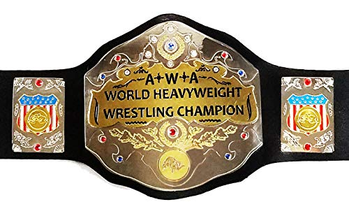 EasyBuyingShop A+W+A World Heavyweight Championship Replica Title Belt Commemorative Name Tag (4mm)