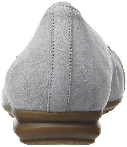 Gabor Ladies Comfort Chiuso Ballerine Grigio (grigio Chiaro 40)