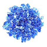 Mr. Fireglass Recycled Fire Glass for Natural or Propane Fire Pit...