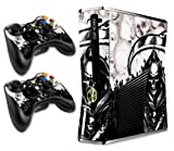 xbox 360 reaper skins for console - Designer Skin for Xbox 360 Slim and Two Controllers - Reaper - White