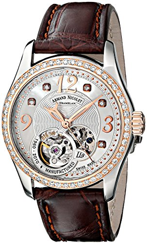 armand-nicolet-womens-8653d-an-p953mr8-ll9-limited-edition-stainless-steel-automatic-watch-with-brow