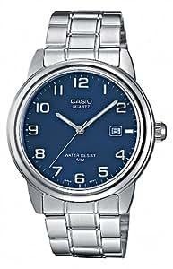 Casio Collection – Reloj Hombre Analógico con Correa de Acero Inoxidable – MTP-1221A-2AVEF