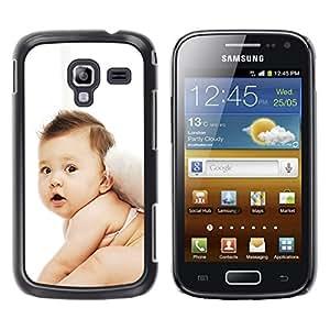 TopCaseStore / la caja del caucho duro de la cubierta de protección de la piel - Cute Fairy Baby - Samsung Galaxy Ace 2 I8160 Ace II X S7560M