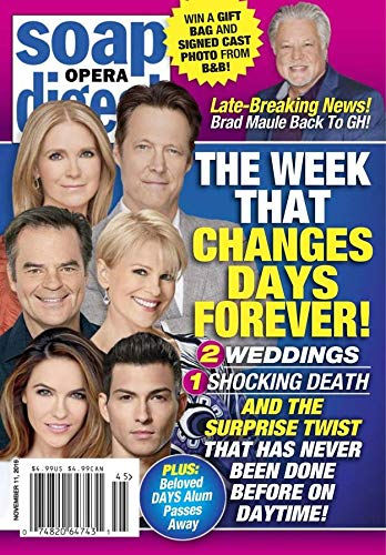 Soap Opera Digest (Soap Opera Days Of Our Lives Cast)