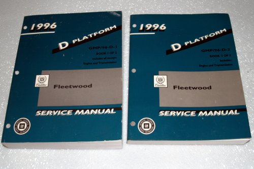 1996 Cadillac Fleetwood Service Manual (Volumes 1 and 2)