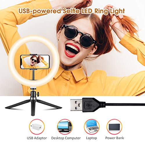VicTsing Ring Light Telefono LED, Luce per Selfie, Ring Light Tiktok 10\