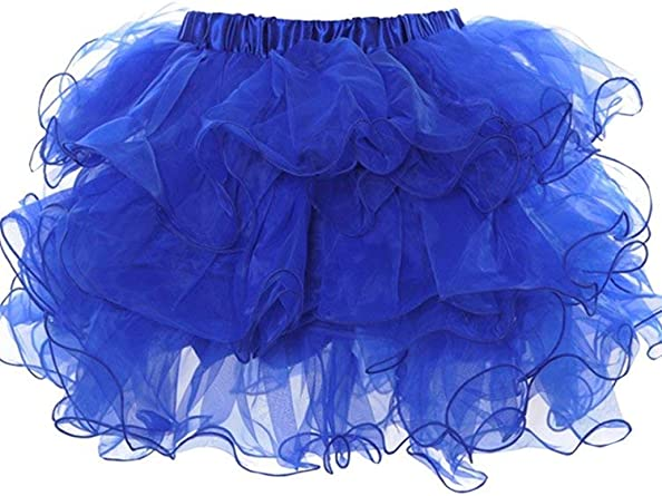 Falda Mini Falda De Organza Faldas Cortas para Mujer Mode De Marca ...