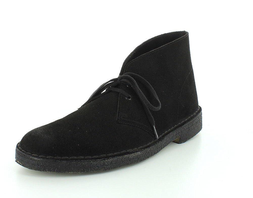 New Black Suede Clarks Originals Men's Desert Boot