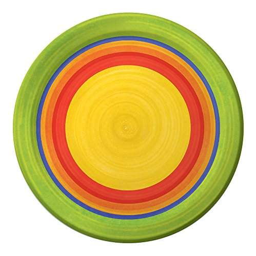 Creative Converting 8 Count Paper Dinner Plates, Summer Pottery